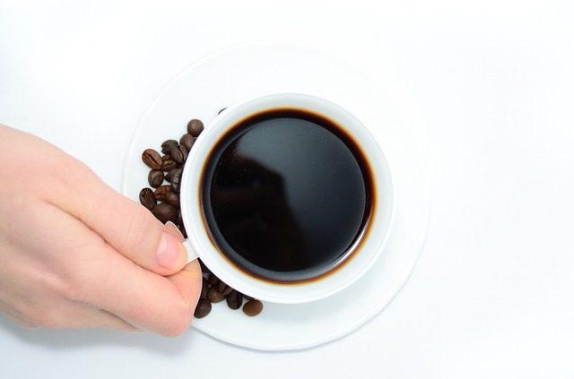 secangkir kopi, gelas kopi