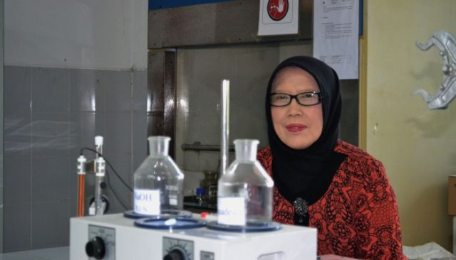 Peneliti Farmasi UGM, Prof. Dr. Ediati Sasmito, S.E., Apt.,