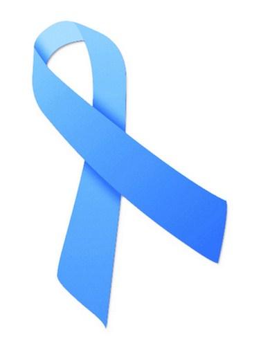 Pita biru, simbol kepedulian terhadap kanker prostat.