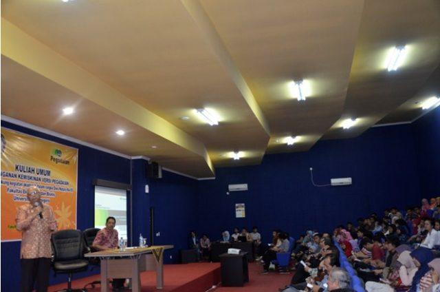 Rayakan Hari Jadi Ke-55, Fakultas Ekonomi Bisnis Undip Selenggarakan Kuliah Umum. (Credit: www.undip.ac.id)