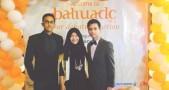 Dari kiri ke kanan: Faza Adrial, Ratu Istihajar, Tengku Omar.