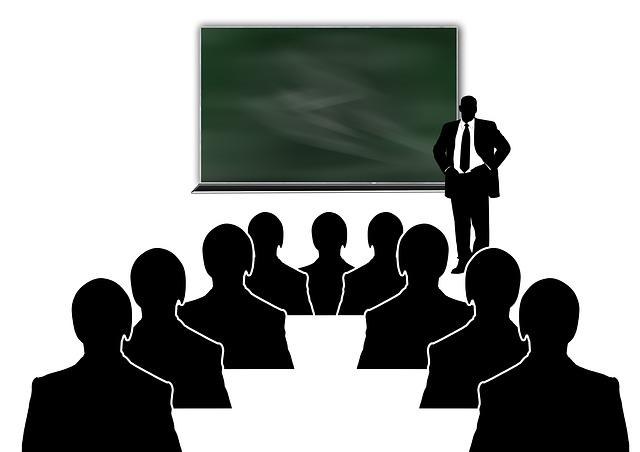 presentasi, mengajar, seminar