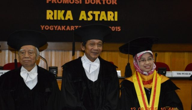 Rika Astari, Dosen UAD Raih Gelar Doktor. (Credit: ugm.ac.id)