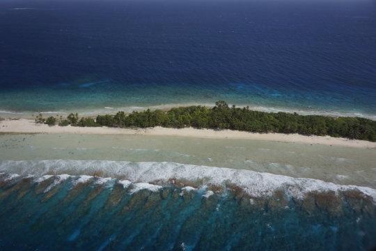 kwajelein atoll, terumbu karang