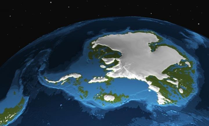 model iklim, laoisan es, antartika