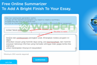 meringkas essay secara otomatis