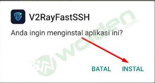 install VMess (V2Ray) di Android