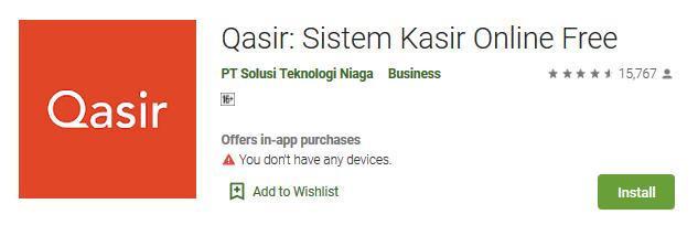 aplikasi kasir android gratis