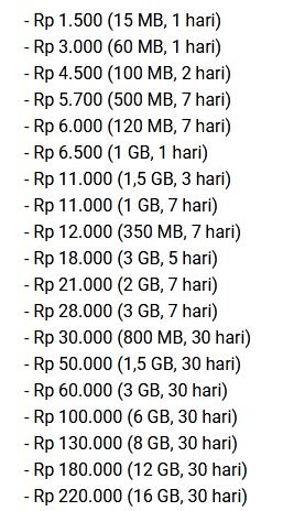 Paket Internet Xl Terbaru Murah